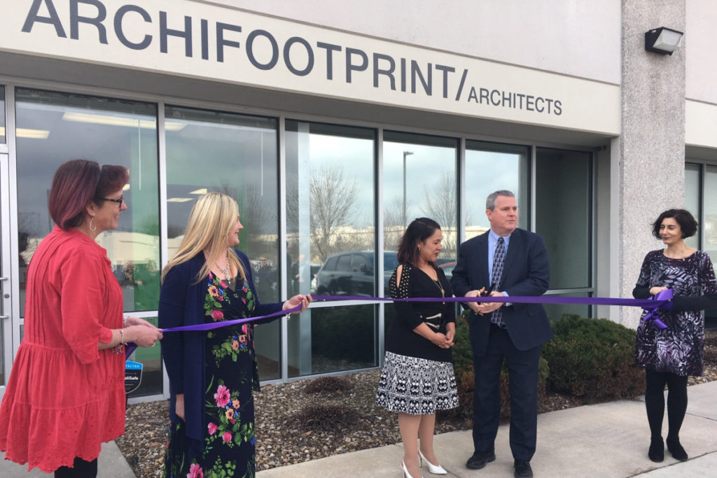 Ribbon Cutting archifootprint
