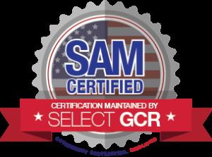 SelectGCR_SAM_Certified_Logo